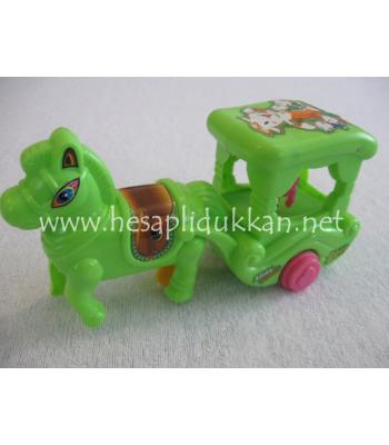 Atlı araba ipli oyuncak P476