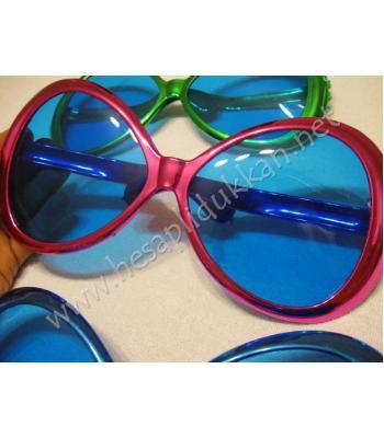 Büyük parlak parti gözlükleri R110