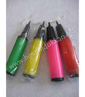 Balon pompası yeni model canlı renkler uygun fiyat P785