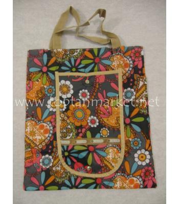 Cüzdan şeklinde katlanabilir çanta P516