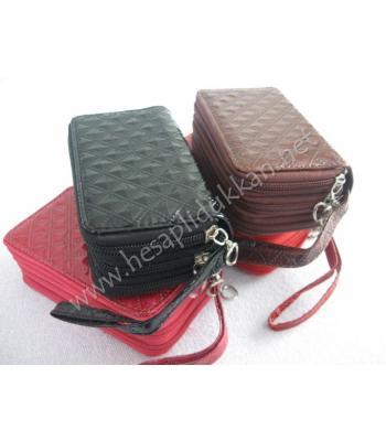 Cep telefonluk anahtarlık cüzdan üçü bir arada R02