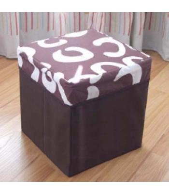 Dekoratif çok amaçlı katlanabilir kutu koltuk P633