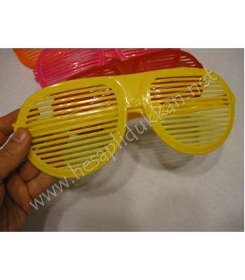 Dev panjur gözlükler parti malzemeleri R114