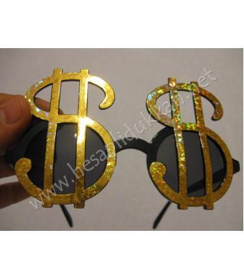 Dolar şeklinde parti gözlüğü R102