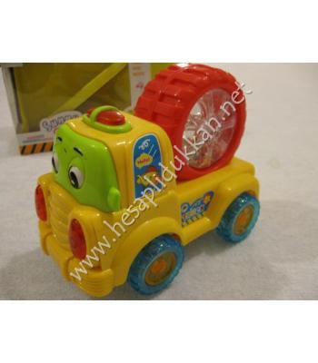 Eğlenceli şeker arabası ışıklı oyuncak P894