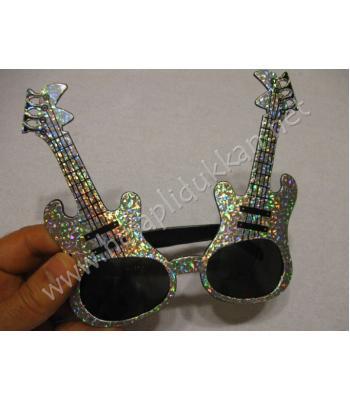 Elektro gitar şeklinde parti gözlüğü R99