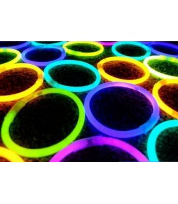 50 li paket glow stick ışıklı çubuk