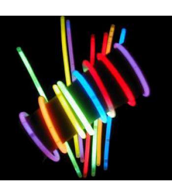 Kırılınca ışık veren fosforlu glow çubuk