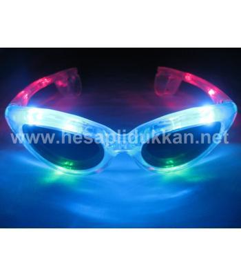 Işıklı gözlük yılbaşı ve parti ürünleri P332