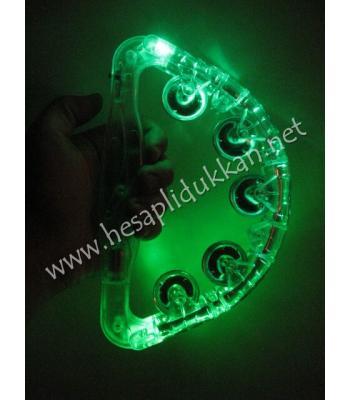Işıklı tef büyük üç kademeli ışık piller dahil P719
