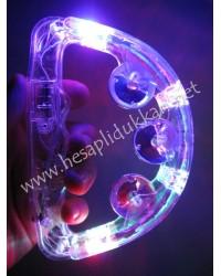 Işıklı tef küçük boy ışıklı eğlence parti malzemesi P724