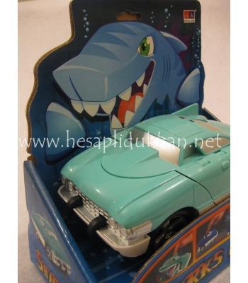 Köpek balığı canavar araba Sharks car P458
