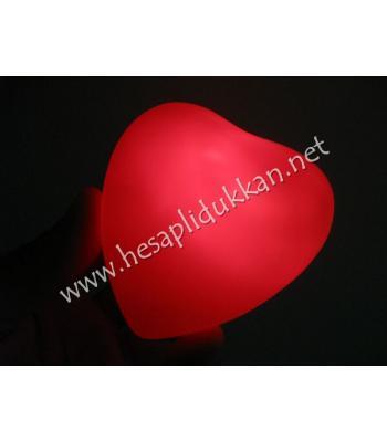 Kırmızı kalp gece lambası P805