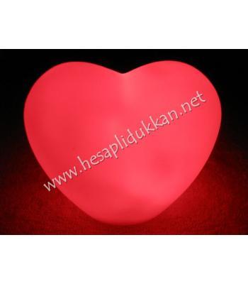 Kalp şeklinde renk değiştiren gece lambası P768