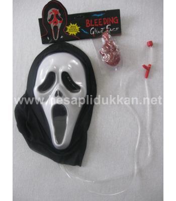 Kanlı çığlık maskesi şaka malzemesi P391