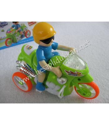 Müzikli ve ışıklı oyuncak motosiklet P740