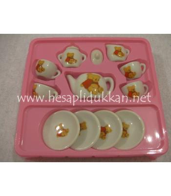 Mini porselen çay seti 13 parça P462