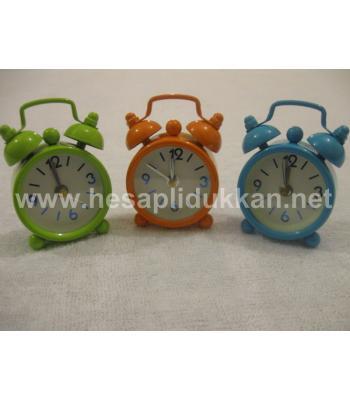 Mini renkli hediyelik masa saatleri P358