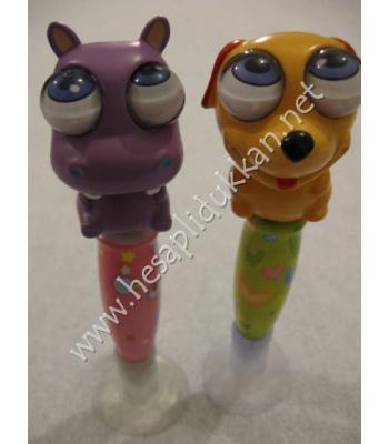 Pörtlek gözlü kalemler ilginç kırtasiye malzemeleri P862