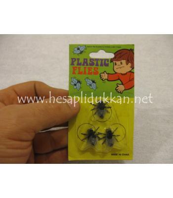 Plastik sinek 3 Lü P508
