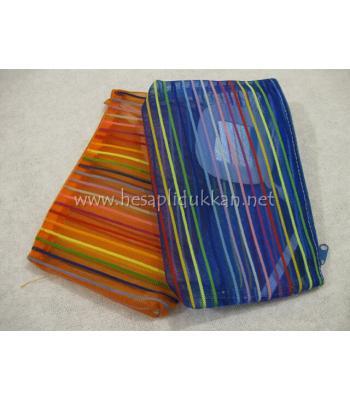 Pratik kendinden aynalı makyaj çantası P630