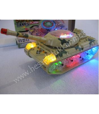 Süper led ışıklı tank led ışıklı oyuncak R50