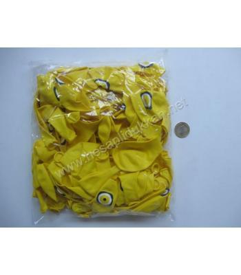 Sarı nazarlıklı balon P130