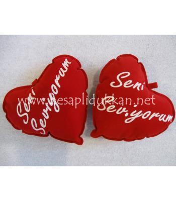 Sevgililer günü yastığı hediyesi P427