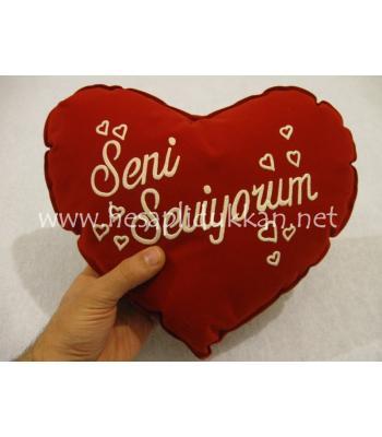 Sevgililer günü yastığı özel fiyat P452