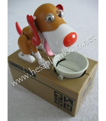 Sevimli köpek kumbara para yiyen kumbara P804