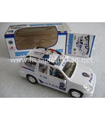 Türkçe konuşan polis arabası P481