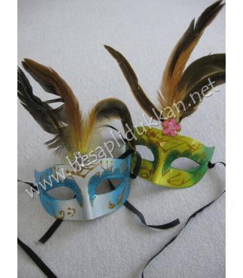 Tüylü parti maskesi parti malzemeleri P798