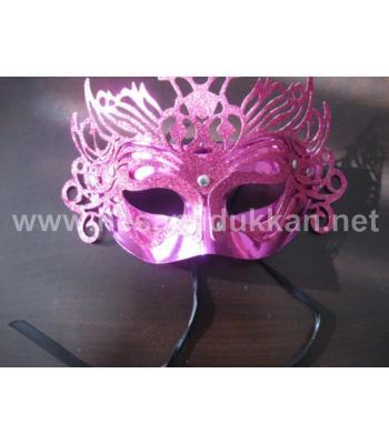 Taçlı yılbaşı ve parti maskesi P264