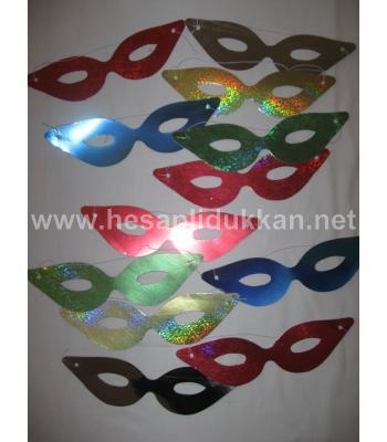 Yılbaşı maskeleri 12 li paket P324