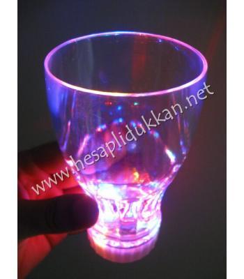 ışıklı bardak ışıklı kadeh ışıklı parti malzemeleri P764