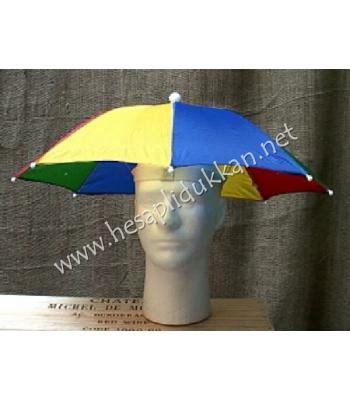 Şemsiye şapka gökkuşağı renkleri P779