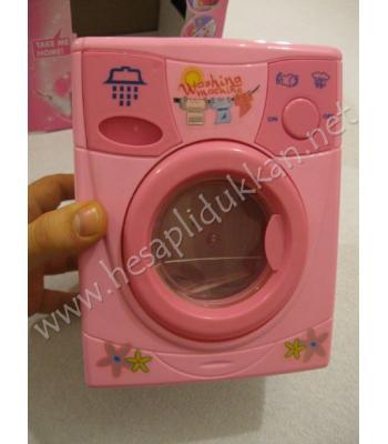 Şirin çamaşır makinesi su alır ve boşaltır R43
