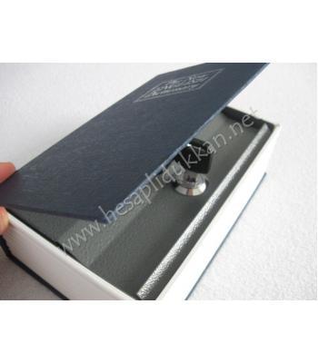 İngilizce sözlük şeklinde kasa kumbara mücevher kutusu R01
