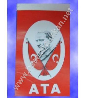 İpli Atalı bayrak 10x20 B039