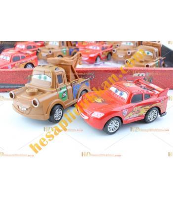 Toptan ucuz oyuncak doğum günü hediye şimşek mekkuin McQueen araba metal