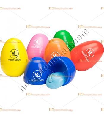 Promosyon oyuncak slime yumurta baskı logo