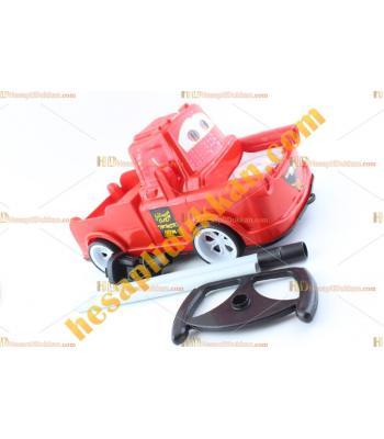 Toptan ucuz oyuncak direksiyonlu sopalı kamyon TOYBA8424