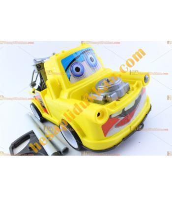 Toptan ucuz oyuncak sopalı çekici araç direksiyonlu