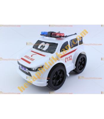 Toptan ucuz oyuncak ambulans araba TOYBA8407