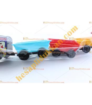 Toptan oyuncak plastik uzun tren TOYBA8403