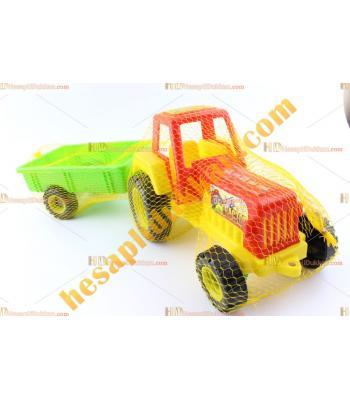 Toptan ucuz oyuncak sesli traktör plastik promosyon