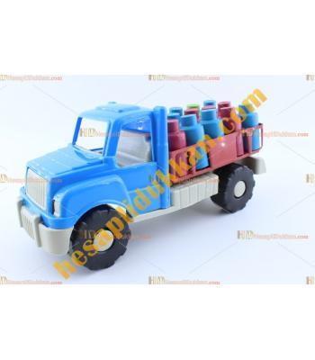 Toptan ucuz oyuncak tüp kamyonu TOYBA8416