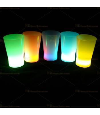 Glow shot ışıklı bardak