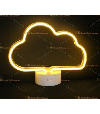 Toptan Led neon lamba Çift Yüz Bulut