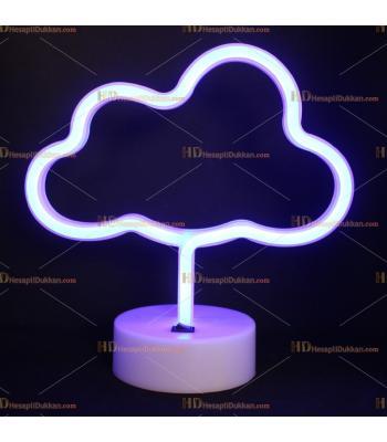 Toptan Neon lamba mavi bulut